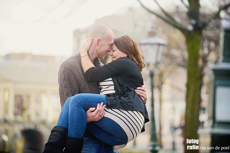 Melissa & John ~ Loveshoot in Leiden